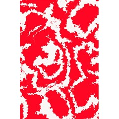 Migraine Red White 5.5  x 8.5  Notebooks
