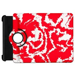 Migraine Red White Kindle Fire HD Flip 360 Case
