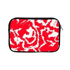 Migraine Red White Apple iPad Mini Zipper Cases
