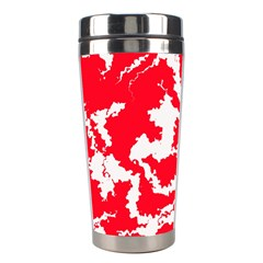 Migraine Red White Stainless Steel Travel Tumblers
