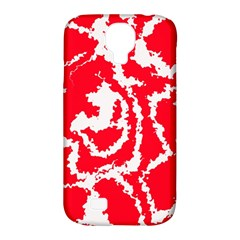 Migraine Red White Samsung Galaxy S4 Classic Hardshell Case (PC+Silicone)
