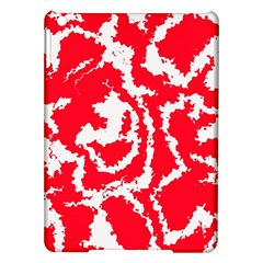 Migraine Red White Ipad Air Hardshell Cases