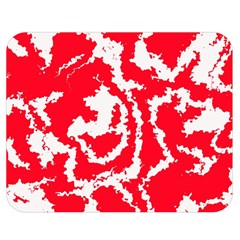 Migraine Red White Double Sided Flano Blanket (Medium)