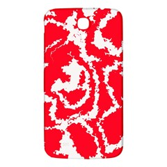 Migraine Red White Samsung Galaxy Mega I9200 Hardshell Back Case