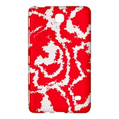 Migraine Red White Samsung Galaxy Tab 4 (8 ) Hardshell Case