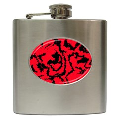 Migraine Red Hip Flask (6 oz)