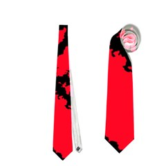 Migraine Red Neckties (One Side)