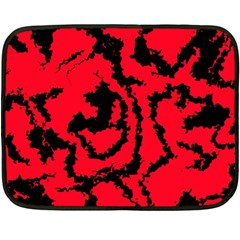 Migraine Red Fleece Blanket (Mini)