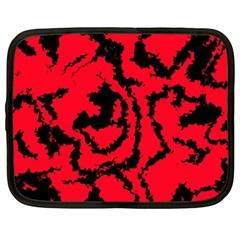 Migraine Red Netbook Case (XXL)