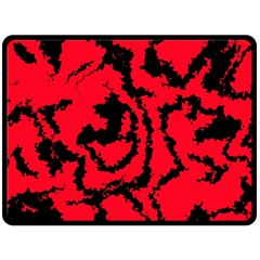 Migraine Red Fleece Blanket (Large)