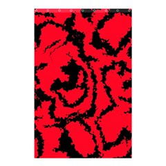 Migraine Red Shower Curtain 48  X 72  (small)