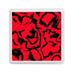 Migraine Red Memory Card Reader (Square)
