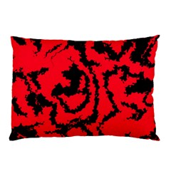 Migraine Red Pillow Cases (Two Sides)