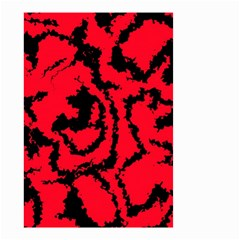 Migraine Red Small Garden Flag (Two Sides)