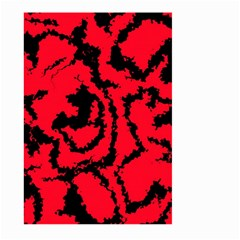 Migraine Red Large Garden Flag (two Sides)