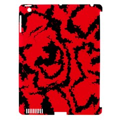 Migraine Red Apple iPad 3/4 Hardshell Case (Compatible with Smart Cover)