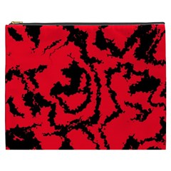 Migraine Red Cosmetic Bag (XXXL)