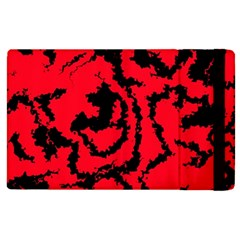 Migraine Red Apple iPad 2 Flip Case