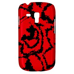 Migraine Red Samsung Galaxy S3 MINI I8190 Hardshell Case