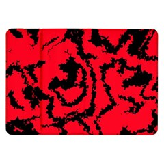 Migraine Red Samsung Galaxy Tab 8.9  P7300 Flip Case