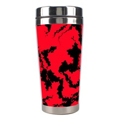 Migraine Red Stainless Steel Travel Tumblers