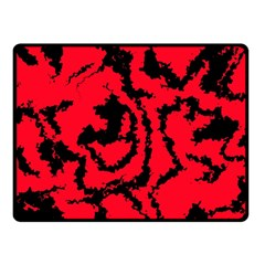 Migraine Red Double Sided Fleece Blanket (Small)