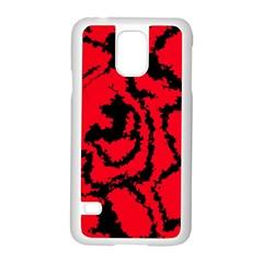 Migraine Red Samsung Galaxy S5 Case (White)