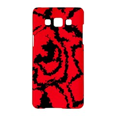 Migraine Red Samsung Galaxy A5 Hardshell Case