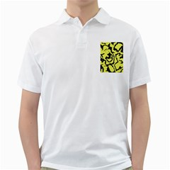 Migraine Yellow Golf Shirts