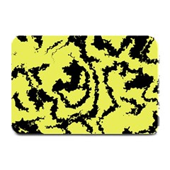 Migraine Yellow Plate Mats