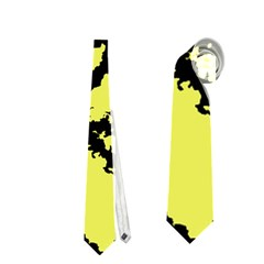 Migraine Yellow Neckties (One Side)