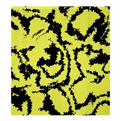 Migraine Yellow Shower Curtain 66  x 72  (Large)