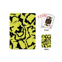 Migraine Yellow Playing Cards (Mini)