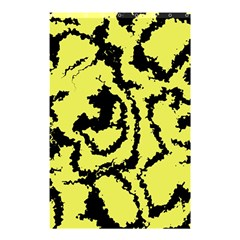 Migraine Yellow Shower Curtain 48  x 72  (Small)