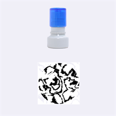 Migraine Yellow Rubber Round Stamps (Small)