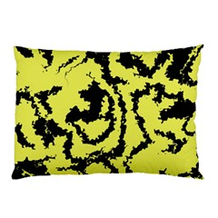 Migraine Yellow Pillow Cases (Two Sides)