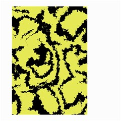 Migraine Yellow Small Garden Flag (two Sides)