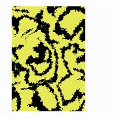 Migraine Yellow Large Garden Flag (Two Sides)
