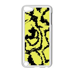 Migraine Yellow Apple iPod Touch 5 Case (White)
