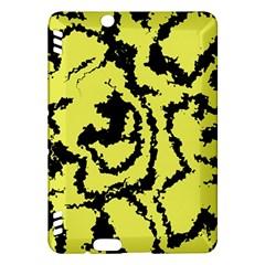 Migraine Yellow Kindle Fire HDX Hardshell Case