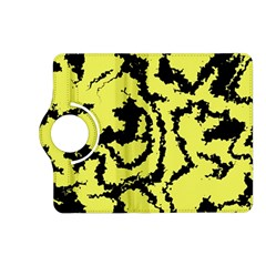 Migraine Yellow Kindle Fire HD (2013) Flip 360 Case