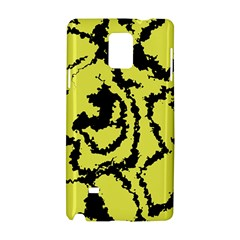 Migraine Yellow Samsung Galaxy Note 4 Hardshell Case