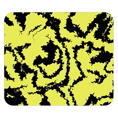 Migraine Yellow Double Sided Flano Blanket (Small)