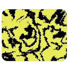 Migraine Yellow Double Sided Flano Blanket (Medium)