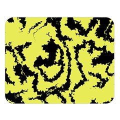 Migraine Yellow Double Sided Flano Blanket (Large)