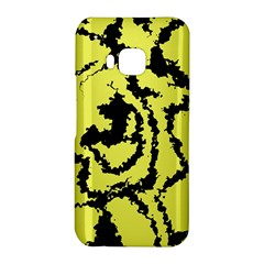Migraine Yellow HTC One M9 Hardshell Case