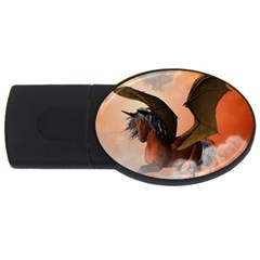 The Dark Unicorn USB Flash Drive Oval (4 GB)