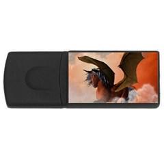 The Dark Unicorn USB Flash Drive Rectangular (4 GB)