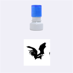 The Dark Unicorn Rubber Round Stamps (Small)