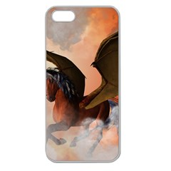 The Dark Unicorn Apple Seamless iPhone 5 Case (Clear)
